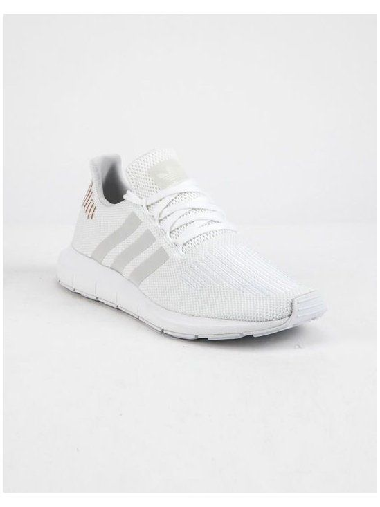 ADIDAS Swift Run Cloud White & Crystal White Shoes #gym #shoes ...