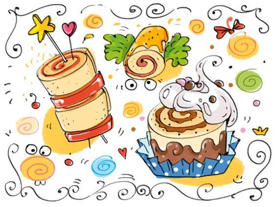 Cartoon cooking concurso de recetas locas cocina - Concurso de cocina ...
