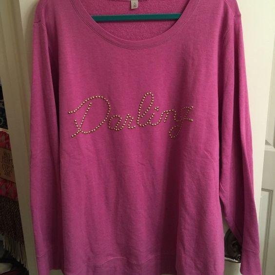 Darling Sweater from Nordstrom Adorable size 3X Darling sweater from Nordstrom! Excellent condition. Halogen Sweaters Crew & Scoop Necks