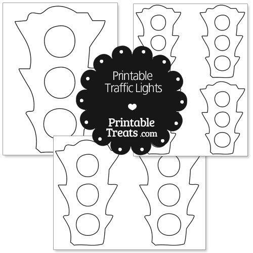 printable traffic lights from printabletreats com
