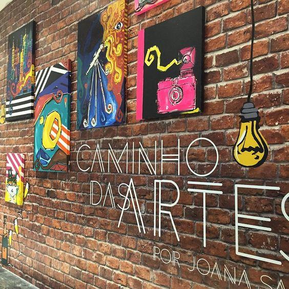 Arte no @iguatemifortaleza by @jcsalle (Joana Salle) #estiloiguatemi.#art #caminhodasartes #andreafialho