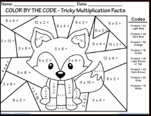 Christmas Maths Colouring Sheets Math Coloring Worksheets Fun Math Worksheets Multiplication Worksheets