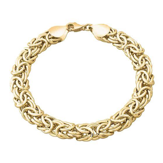 2mm sterling silver 925 Italian BYZANTINE BIRDCAGE link chain necklace bracelet