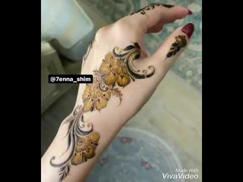 اجمل نقش حناء على اليد Youtube Animal Tattoo Henna Tattoos