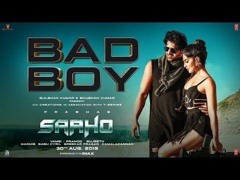 Bad Boy Saaho Prabhas Jacqueline Fernandez Whatsapp Status Video Youtube New Hindi Songs Hindi Movie Song Songs