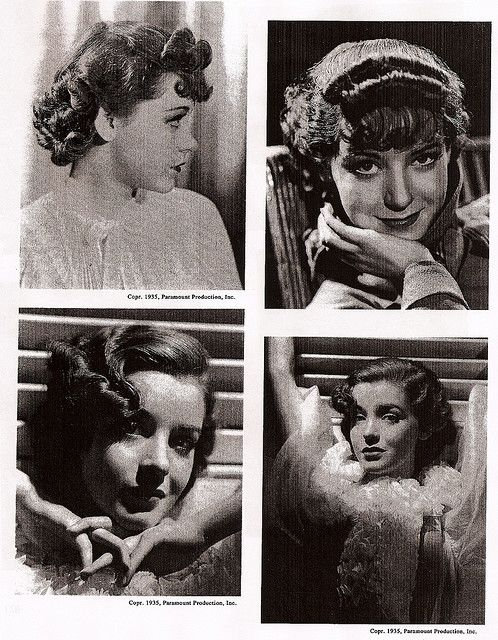 Enjoyable 1930S Hairstyles 1930S And Hairstyles On Pinterest Short Hairstyles Gunalazisus