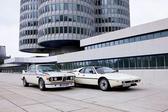 BMW 3.0CSL & BMW M1 by Auto Clasico, via Flickr