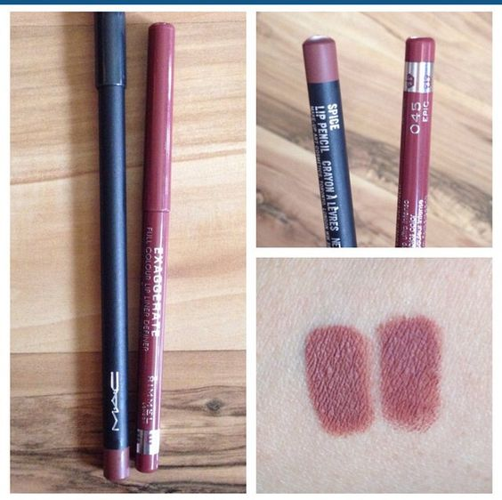 mac spice and rimmel epic perfect dupe make up