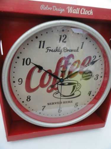 Pinterest the world s catalog of ideas - Coffee themed wall clocks ...