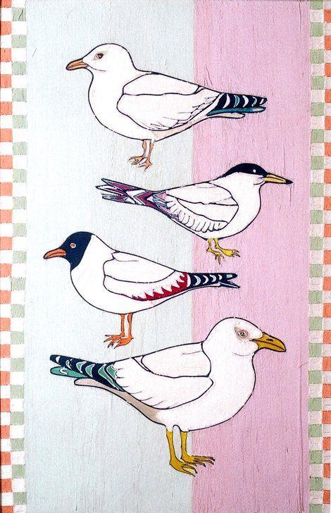 Kintaro Ishikawa, Lovely Birds on ArtStack #kintaro-ishikawa #art