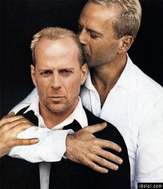 Bruce Willis loves Bruce Willis...