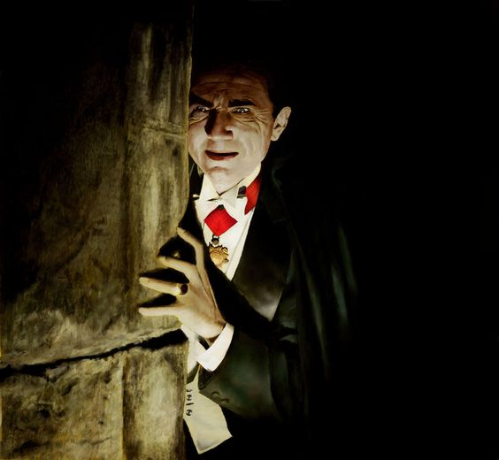 Bela Lugosi as Bram Stoker's Dracula.