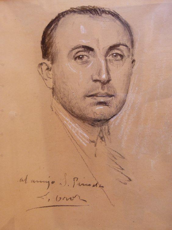 Leandro Oroz. Retrato del Doctor Serviliano Pineda