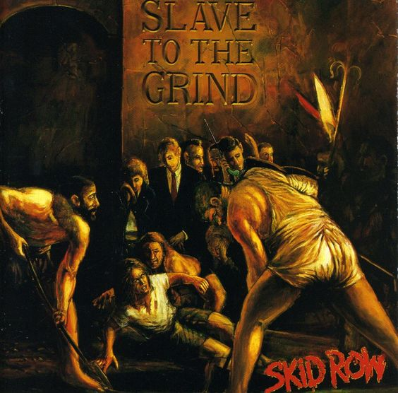 Skid Row - Slave to the Grind, Grey
