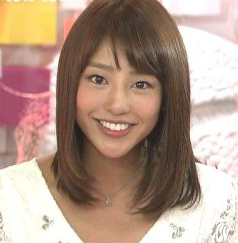 テレビで人気の岡副麻希の美人でかわいい画像