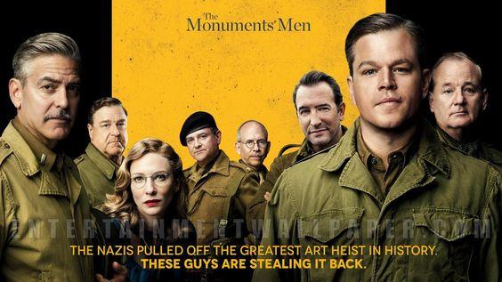 vômito público : Por que não vale a pena assistir The Monuments Men...