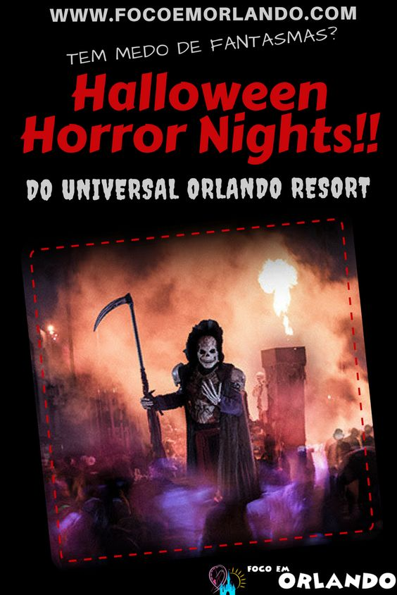 Pinterest - Halloween Horror Nights - Universal Orlando Resort