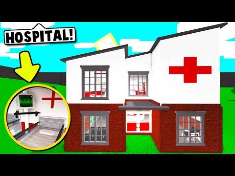 I Made A Hospital Using Building Hacks On Bloxburg New