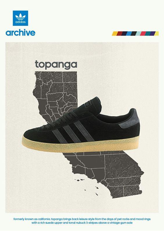 adidas Topanga poster