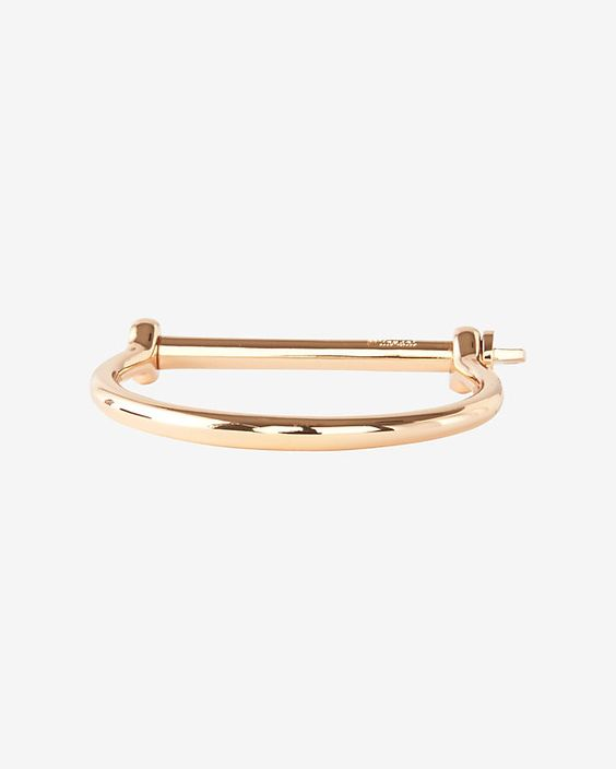 Miansai Screw Cuff: Rosegold | Shop IntermixOnline.com
