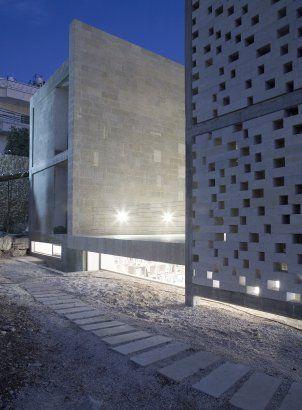 Mashrabiya House, Jerusalem  by: Senan Abdelqader Architects