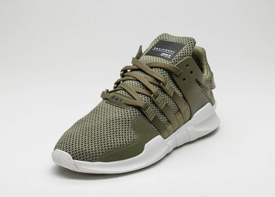 adidas EQT Support ADV Olive Cargo - Sneaker Bar Detroit