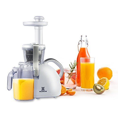 Wowow Juicer Slow Masticating Juicer Extractor, Cold Press