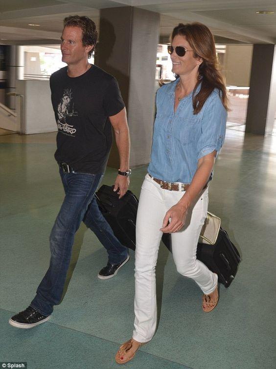 Cindy Crawford with husband Rande Gerber