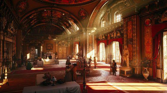 La Grande Salle de Bal et ses salles annexes 7c70ebad8a8a64e6401fd5a7c3bfd663