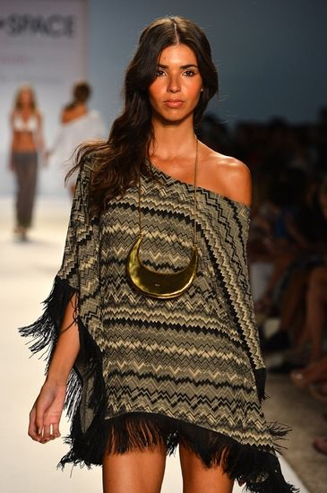 'the Collection by L*Space Swimwear Sahara's Dream Poncho Cacique