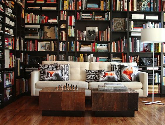 interesting library designs for modern home home