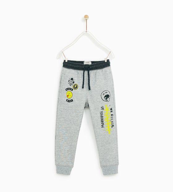 Pantalones Y Joggers Para Nino Zara Espana Pantalones Para Ninos Ropa Para Ninas Pantalones