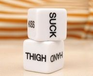 Sex Dice Game Toy for Bachelor Sex Party Fun Adult Sweethearts/Couple Toys-a Pair for only $6.88 You save: $3.77 (35%) + Free Shipping