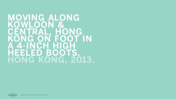 Lonely Planet experience #travel #unforgettable #hongkong