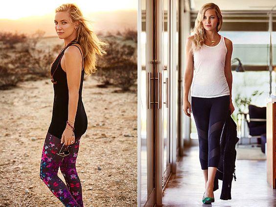 Kate Hudson fitness gear