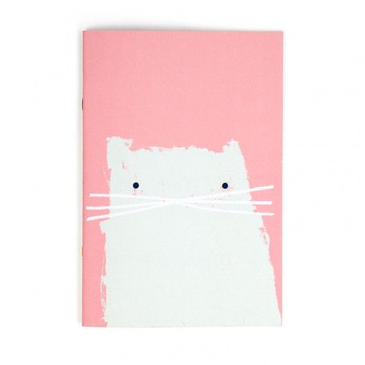 Cat A4ish Notebook at http://www.ohhdeer.com:
