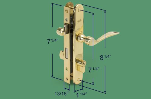 Pella Storm Door Mortise Handle Set Storm Door Storm Door