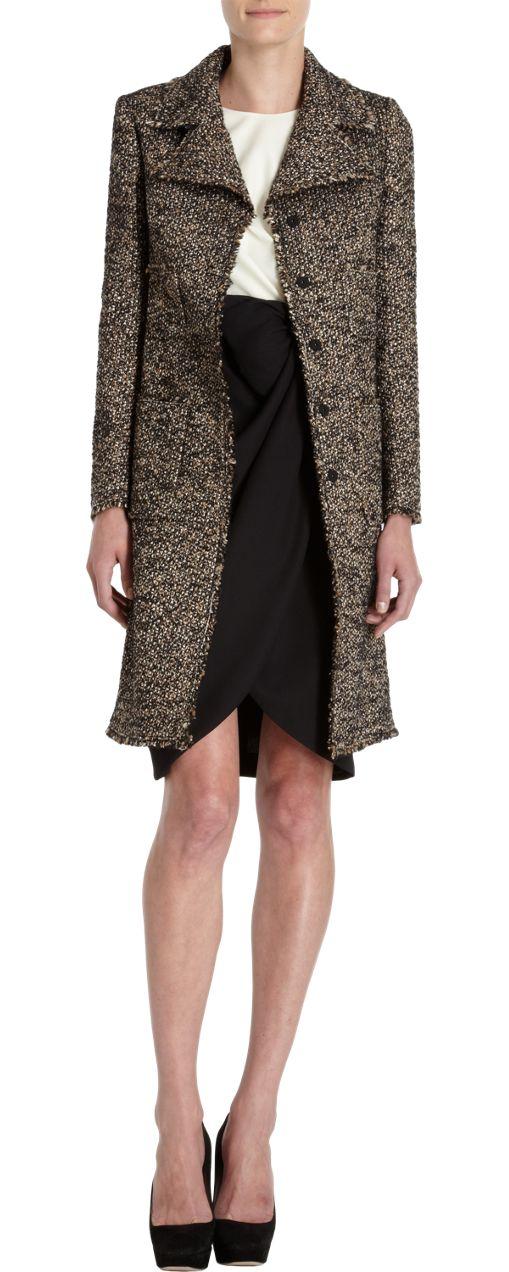 GIAMBATTISTA VALLI |Tweed Coat