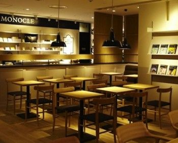 Inside Londons Monocle Cafe