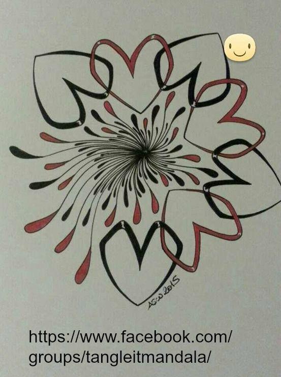 Kai-Zen Doodles: Paris & My 28th Pattern #tangleitjournal #tangle #pattern…