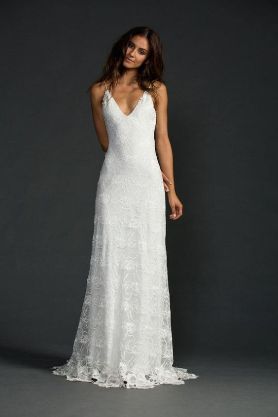 Casual Wedding Dresses For The Minimalist  Wedding Casual ...