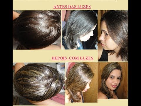 Como fazer Luzes no cabelo em casa ( Com Touca)