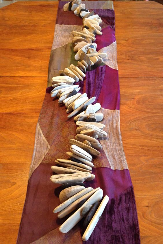 Driftwood table runners