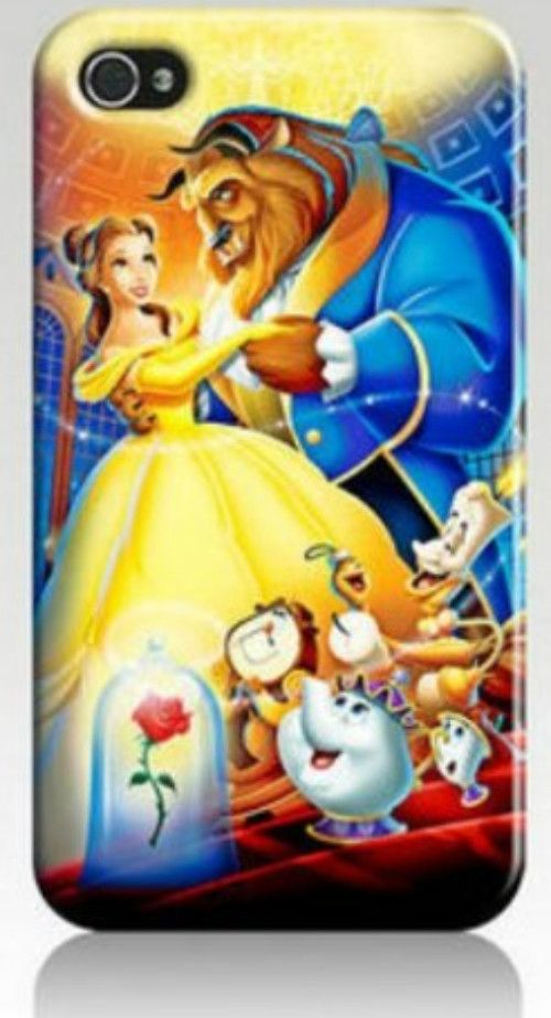 Beauty and the Beast hard case for Apple iPhone 5 or 5s