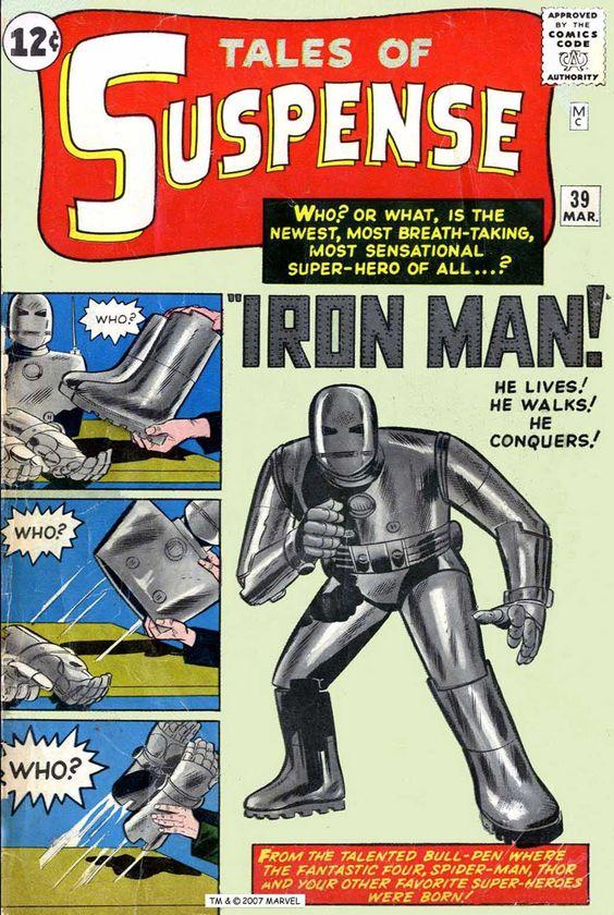 Primera aparición de Iron Man