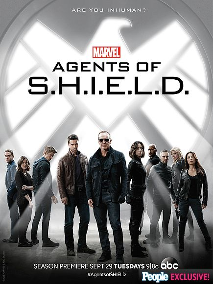 Chloe Bennet and Clark Gregg Show Off Edgy New Looks in Agents of S.H.I.E.L.D. Poster  Agents of S.H.I.E.L.D., People Picks, TV News, Clark Gregg