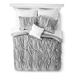Xhilaration™ Chevron Bed in a Bag with Sheet Set - Gray