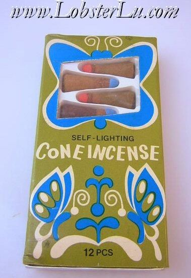 incense - always had these burning