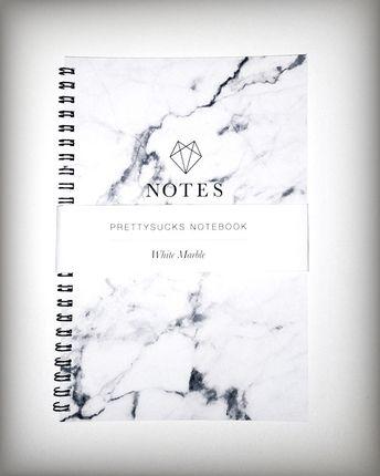 #marble prettysucks notebook from www.prettysucks.com