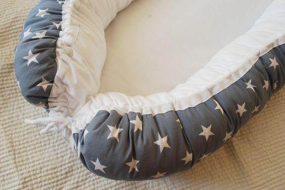 """Cocoons - Babynest - """"Capella"""" - ein Designerstück von AmandasBabynest bei DaWanda"""